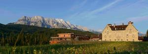 Meditation und Yoga mit high balance im Hotel Kranzbach