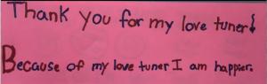 Stressbewältigung in der Schule - Thank you - Lovetuner
